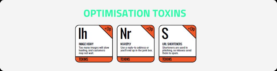 Optimisation Toxins!