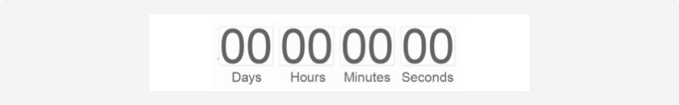 Countdown timer example!