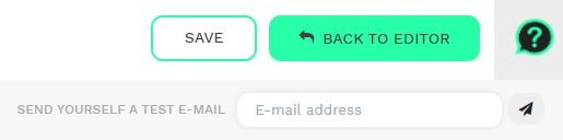 Send a test mail