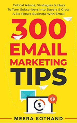 Meera Kotland book on Email marketing tips