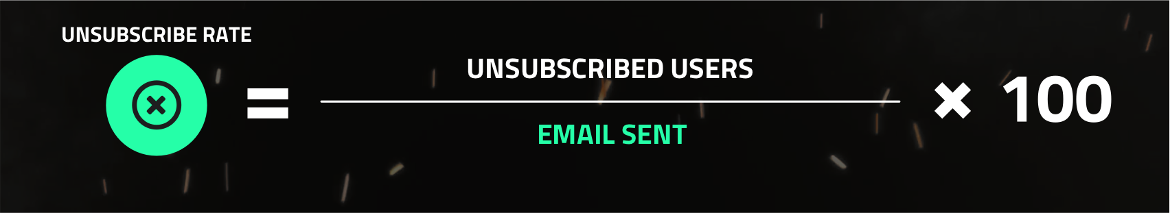 Unsubscribe Rate!