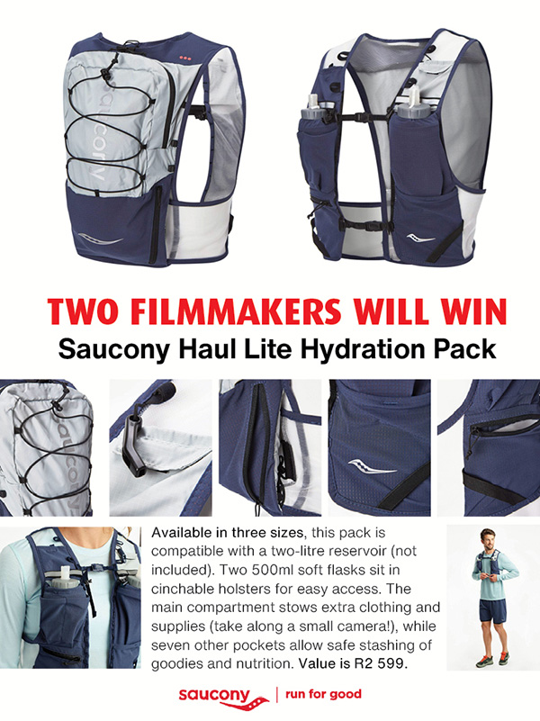 Win Saucony Haul Lite packs